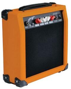MINI GUITAR AMPLIFIER ORANGE, COLOUR ORANGE, EXTERNAL DEPTH 110 FOR JOHNNY BROOK