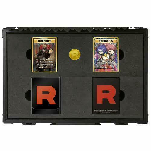 Pokemon Card Game 20th Anniversary Rocket Team Special Case