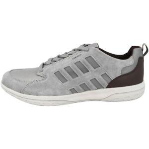 Das Bild wird geladen GEOX-U-Mansel-A-Schuhe-Herren-Freizeit-Sneaker- 1bb58f36aae