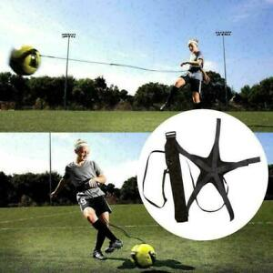 Fussball-Fussball-Kick-Throw-Trainer-Solo-Trainingstraining-Aid-Control-Gesc-M6Z8