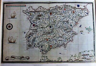 4 Faksimile Landkarten Aus Dem Portolan Atlas Des Antonio Millo 1586 Elegant Im Geruch