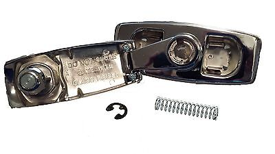 Lock with 2 Keys Pawl Spring for Rear Tailgate Window Crank Handle fits 73-89 Blazer /& Jimmy