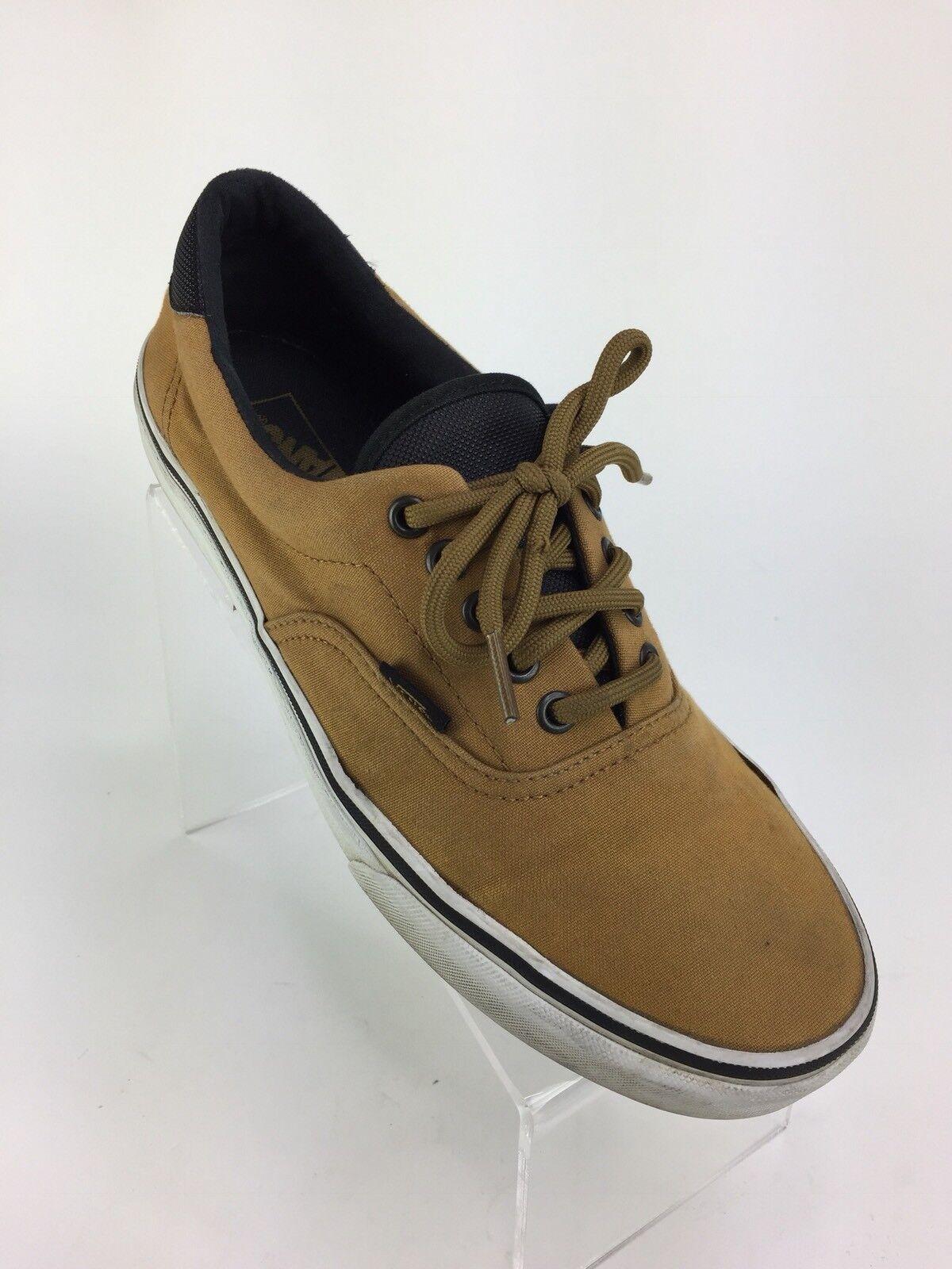 Vans Era '59 Mens Sneakers Sneakers Mens Military Fashion Brown Yellow Black US 9.5 SB cd83da