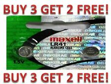 LR41 Maxell 192 (2 piece) LR41 AG3 392A 192 SR41 LR736 392 BUY 3 GET 2 FREE!!