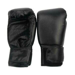 1-Paar-PU-Unisex-Boxhandschuhe-Boxsack-Training-MMA-Sparring-Muay-Thai-Kamp-V7Z9