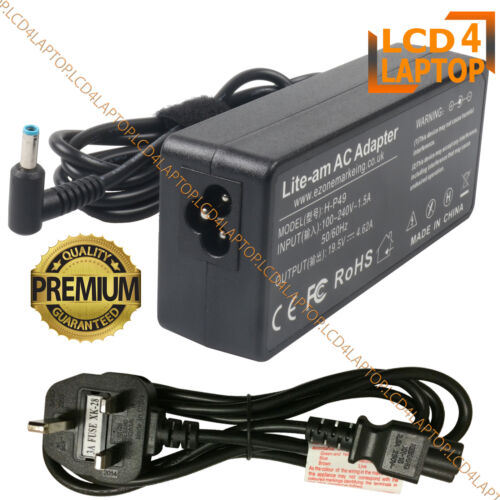 NEW 90 W AC Adapter Charger For HP 255 G3 Ordinateur Portable Chargeur Adaptateur Alimentation
