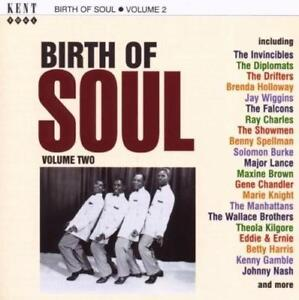 BIRTH-OF-SOUL-VOLUME-2-Various-NEW-amp-SEALED-NORTHERN-SOUL-CD-KENT-60s-R-amp-B