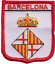 Spain Barcelona City Coat of Arms Shield Embroidered Patch