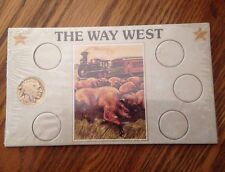 The Way West Buffalo Nickel 1936-D Sealed