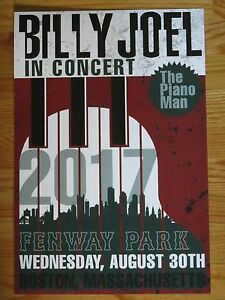 Image Is Loading BILLY JOEL In Concert THE PIANO MAN Fenway