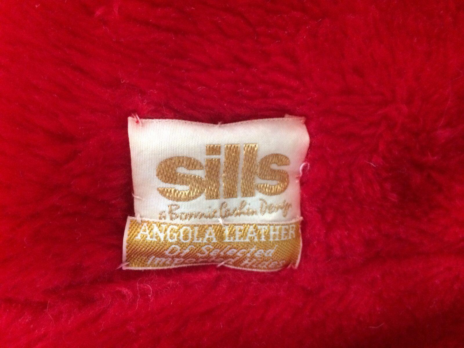 Vintage Bonnie Cashin for Sills red Angola leathe… - image 9
