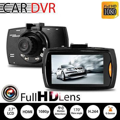 1080P HD LCD 2.4'' Car Camera Dash Cam Vidoe Recorder Night Vision G-Sensor DVR