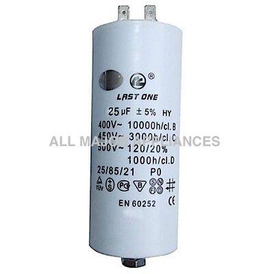 PLASTIC ROUND RUN CAPACITOR 20µF SPLIT SYSTEM 20UF 400-500V 4 TERMINALS