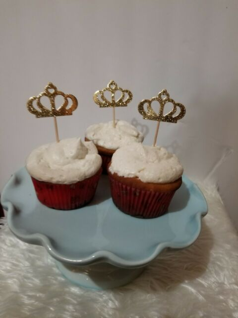 24 pc Bakery Supplies Mermaid Tail Cupcake Picks