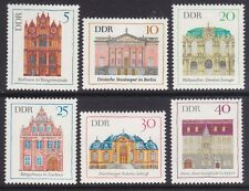 Germany DDR 1071-76 MNH OG 1969 Various Building Complete Set of 6 Very Fine