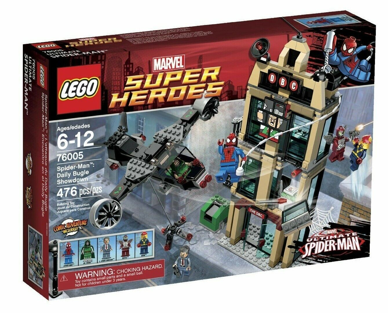76005 SPIDER-MAN DAILY BUGLE SHOWDOWN lego NEW marvel super heroes IN HAND