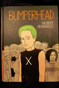 BUMPERHEAD-by-GILBERT-HERNANDEZ-Hardcover-Comic-Graphic-Novel-Book-Drawn