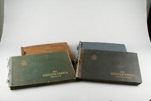 Kreuzer-Emden-4-Alben-mit-zusammen-ueber-900-Original-Fotografien