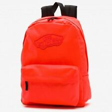 Vans Reino Mochila Mochila Escolar Naranja de viaje de deportes de ocio de hombro