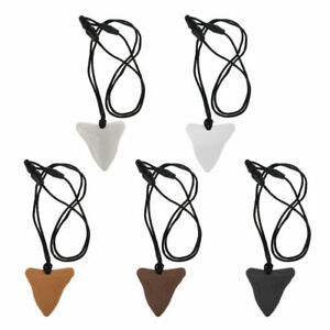 Autism-ADHD-Sensory-teething-Silicone-Shark-Tooth-Chew-Necklace-Pendant-BPA-Free