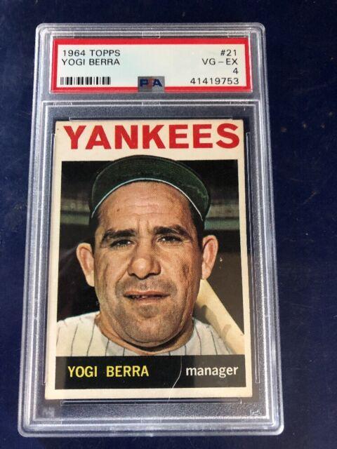 1964 Topps Yogi Berra 21 Baseball Card