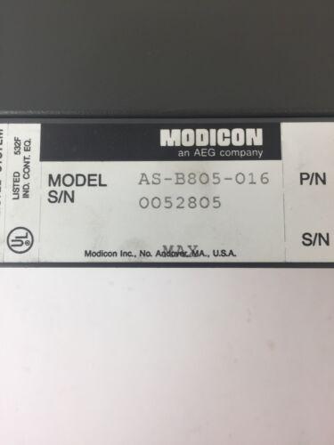 AEG MODION SCHNEIDER AS-B805-016 INPUT MODULE 115VAC