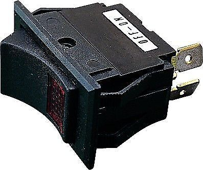 Illuminated Rocker Switch On//Off Boat RV Dash Lighted Button