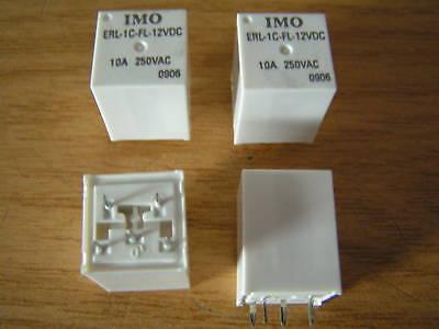 IMO PY21XX 12VDC Coil 10A 250VAC//30VDC  Relay I1 MBC001a