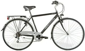 New Hybrid Italian Bicycle Comfort Commuting City GANNA Bike Men Ladies 6s