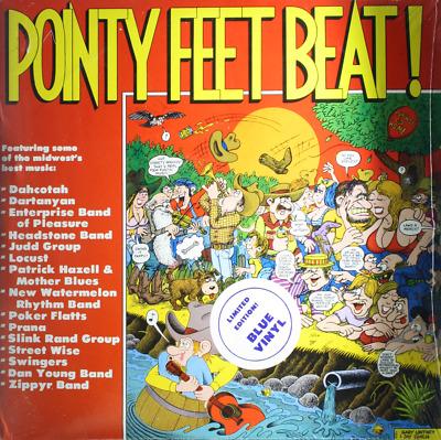 Pointy Feet Beat New Sealed 1979 Blue Vinyl 2xlp Records