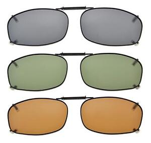 36a9074dec Eyekepper Grey Brown G15 Lens 3-pack Clip-on Polarized Sunglasses ...