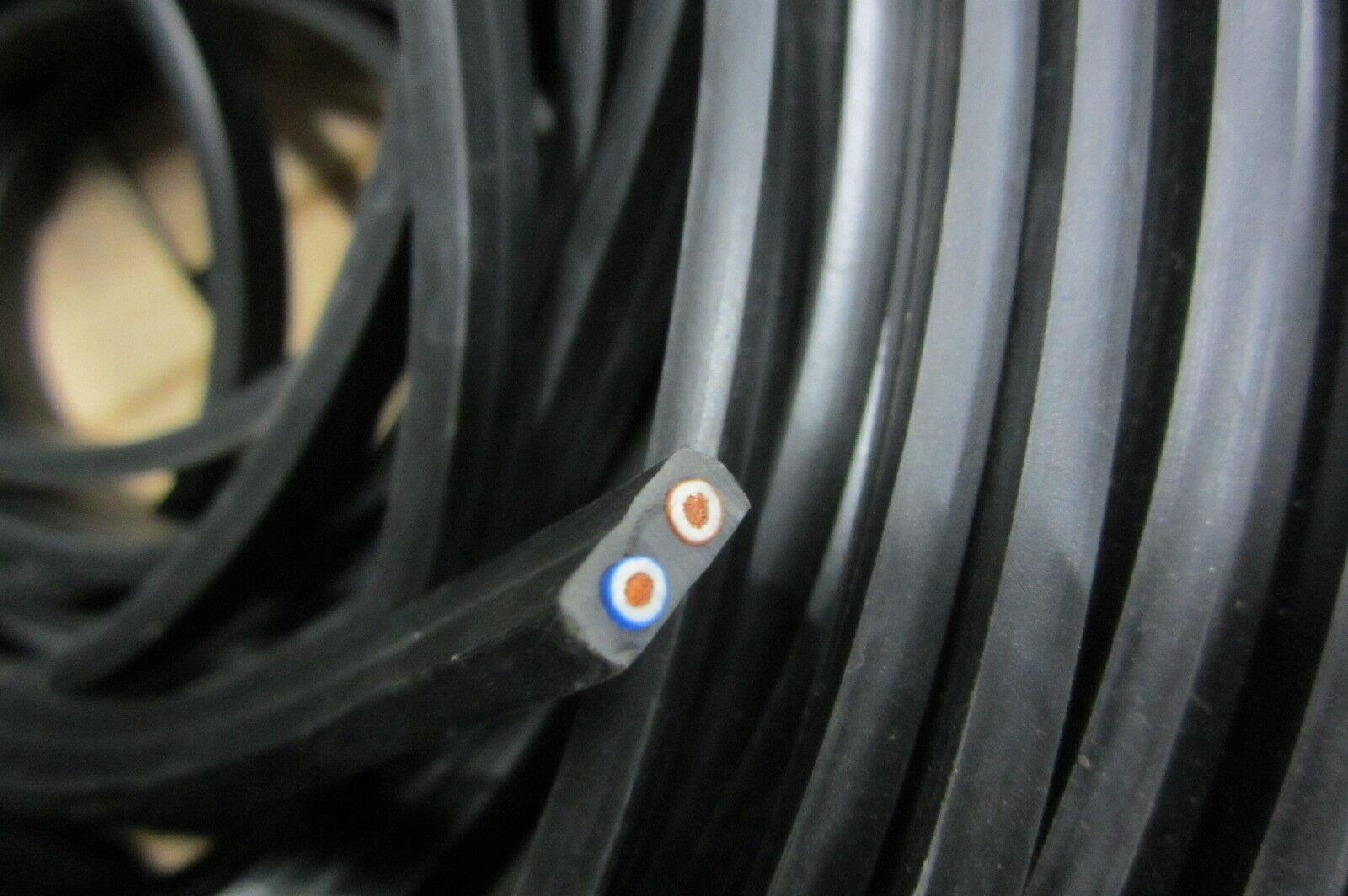 WIMEX 4501596 BOBINA CAVO PIATTO noir 100 metri PER CATENA LUMINOSA E14 E27