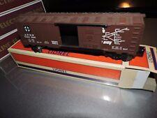 LIONEL O SCALE 3 RAIL ATSF SANTA FE BOX CAR    # 64-1895