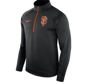 8f25ee91a640 NWT  75 Nike Men s Large San Francisco Giants Therma Half-Zip ...