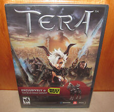 BRAND NEW SEALED Tera PC w/ Exclusive Best Buy Blue Roan Mount