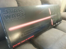 Star Wars The Black Series Force FX Deluxe Kylo Ren Lightsaber Mint NEW IN BOX !