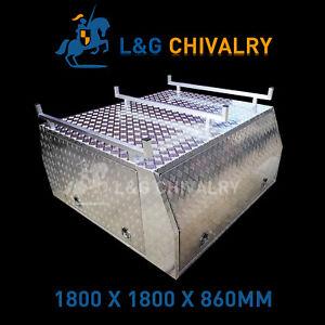 Canopy-Dual-Cab-1800x1800x860mm-Aluminium-Checkerplate-Custom