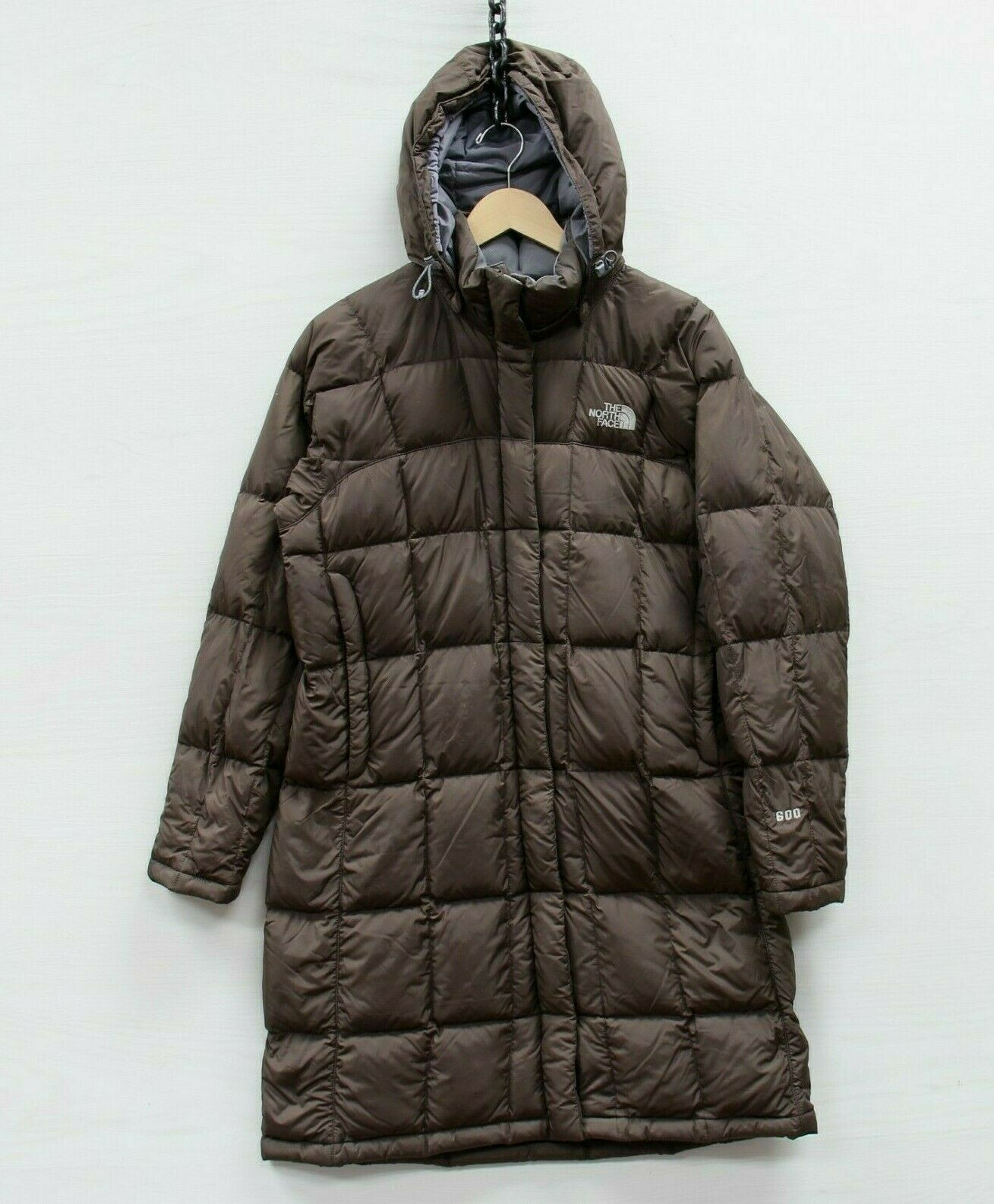 Vintage North Face Metropolis Parka Jacket Womens Size Medium 600 Down Insulated