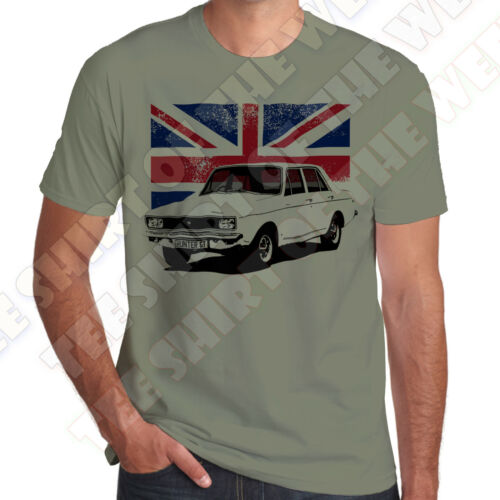 7 colours of Tee Hillman Hunter Gt GLS mens 100/% cotton T-shirt Personal plate