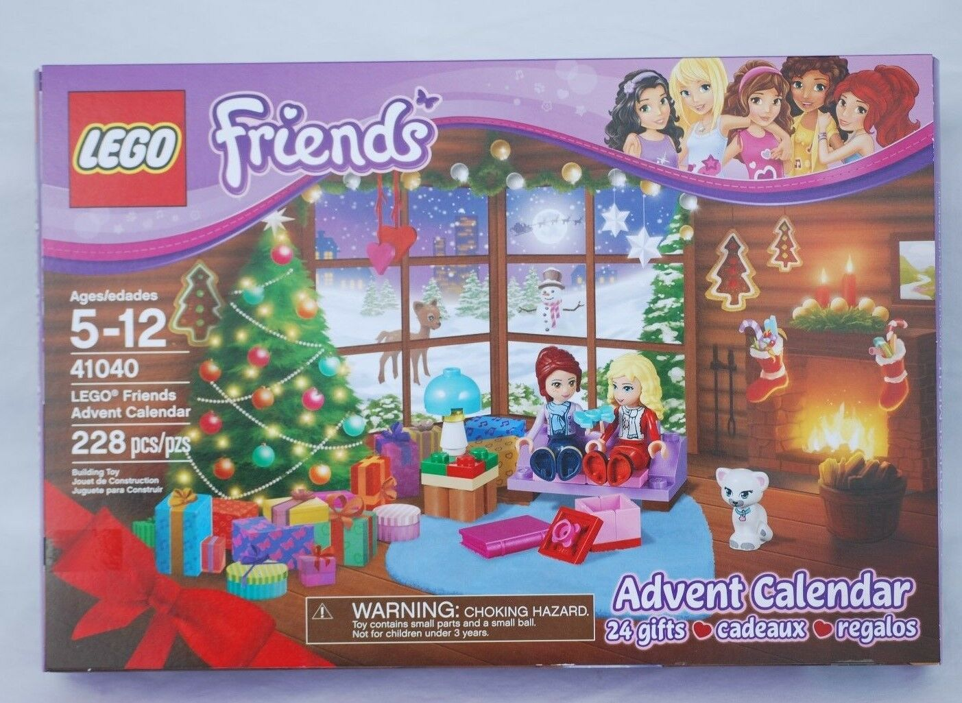 LEGO Friends Advent Calendar 41040 New Sealed
