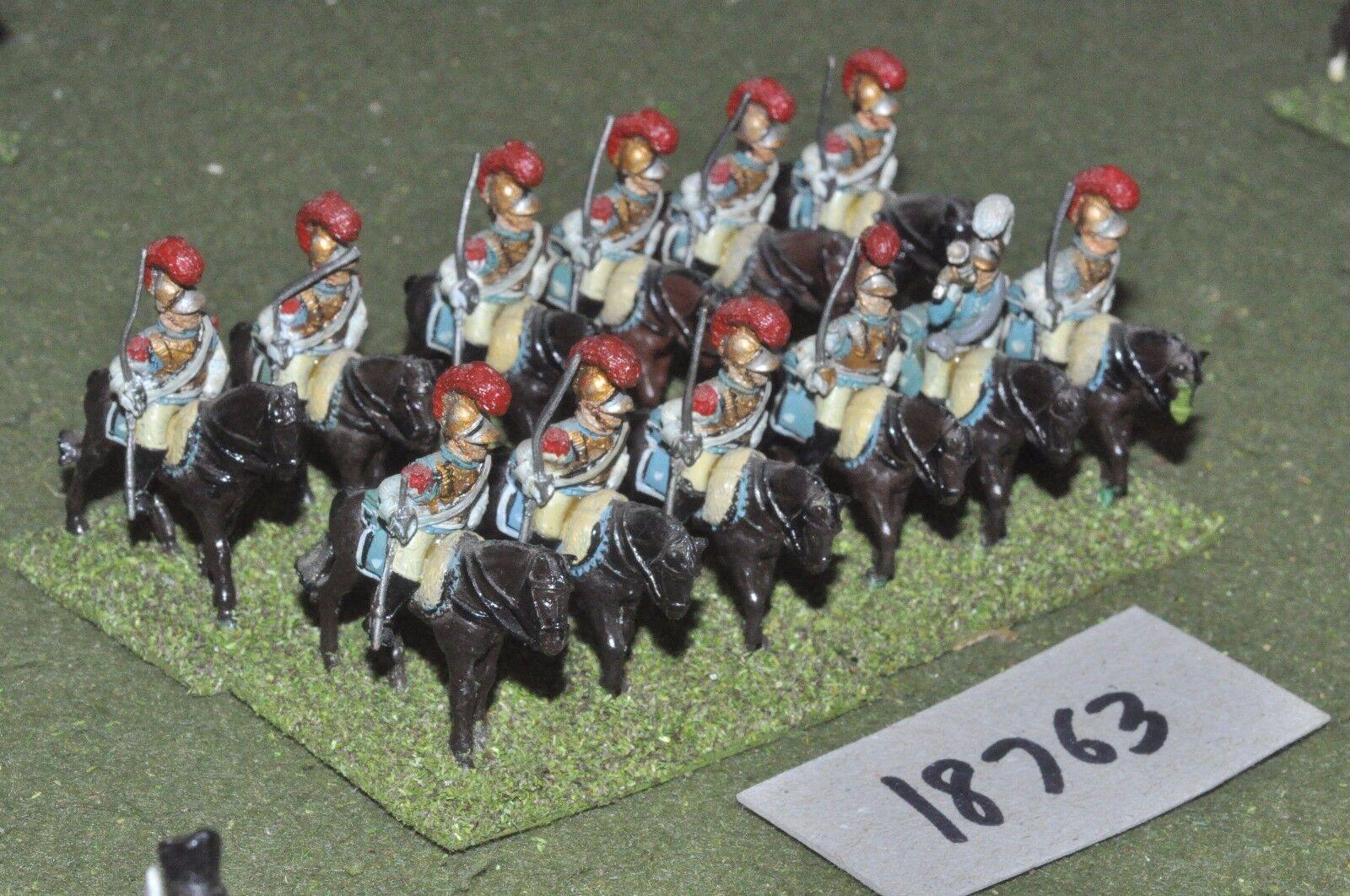 25mm napoleonic   french - carabiniers 12 cavalry - cav (18763)