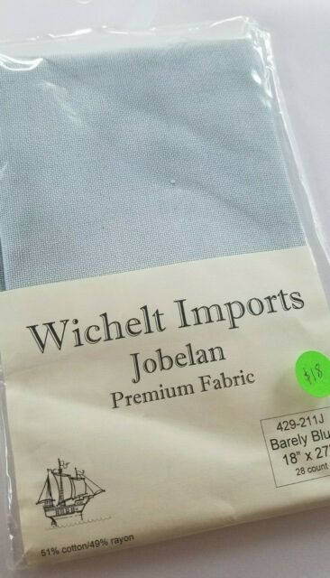 Wichelt Hand Dyed Jobelan Lazy River 28 Ct 18 x 27 Cross Stitch Fabric