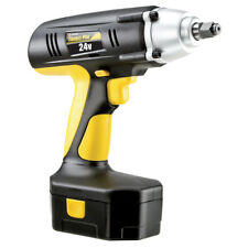 """Trades Pro 24 Volt Cordless Impact Wrench, 1/2"""" Drive, 240 ft-lbs, 837212"""