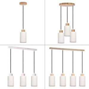 spot light bosco anthrazit pendelleuchte h ngelampe holz design lampe leuchte ebay. Black Bedroom Furniture Sets. Home Design Ideas