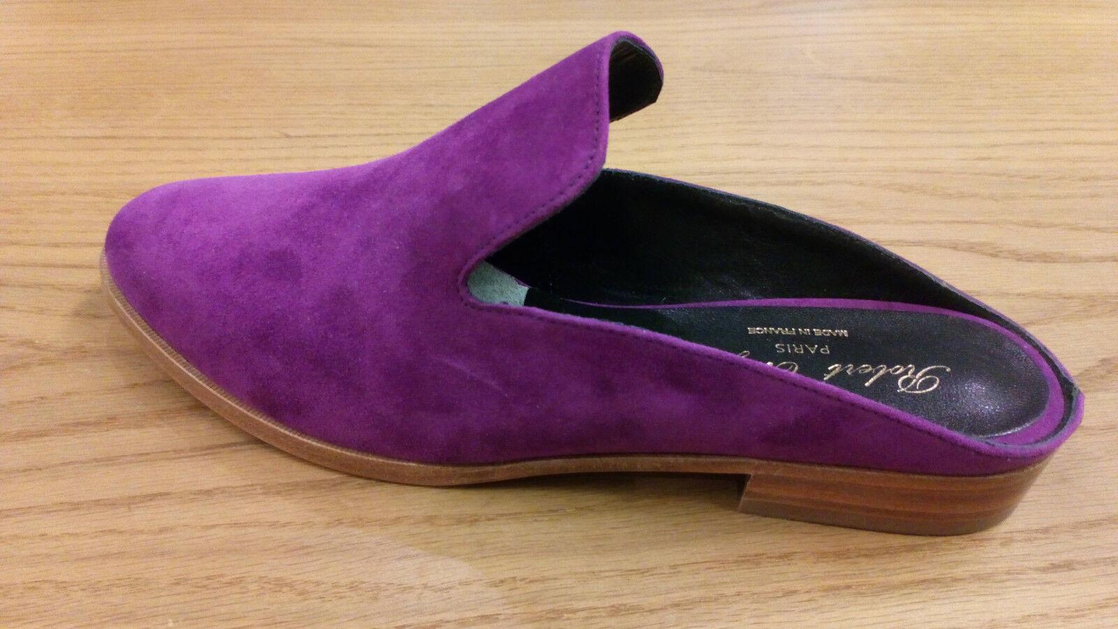 Robert Robert Robert Clergerie Alicen loafers suede lila Größe 37,5 46f25b