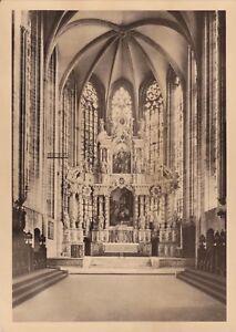 Dom zu Erfurt , Hohes Chor , Ansichtskarte - Rostock, Deutschland - Dom zu Erfurt , Hohes Chor , Ansichtskarte - Rostock, Deutschland