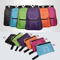 Nylon Folding Backpack Travel Portable Organizer Bolsas High Capacity Outdoor