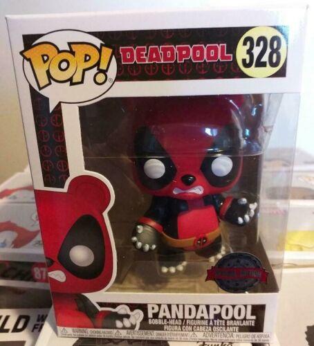 MARVEL DEADPOOL PANDAPOOL SPEC.ED #328 *UK STOCK* FUNKO POP