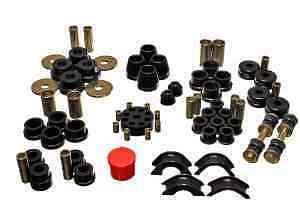 Datsun 1970-73 240Z Energy Polyurethane Suspension Total Bushing Kit Black 194