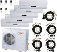 5 Ton Quint Zone Ductless Split Air Conditioner 60000 BTU: 12000 x 5, SANYO COMP
